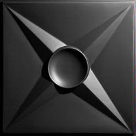 Circle Star Black Ceiling Tiles