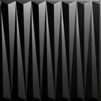 Dart Black Ceiling Tiles