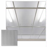 Polyline Clear Ceiling Tiles