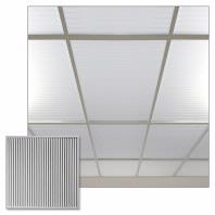 Polyline Frosted Ceiling Tiles