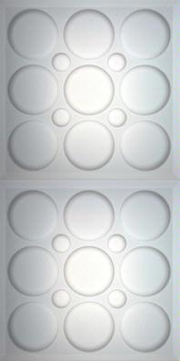 Roman Circle Translucent Ceiling Panels