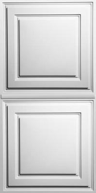 Stratford White Ceiling Panels