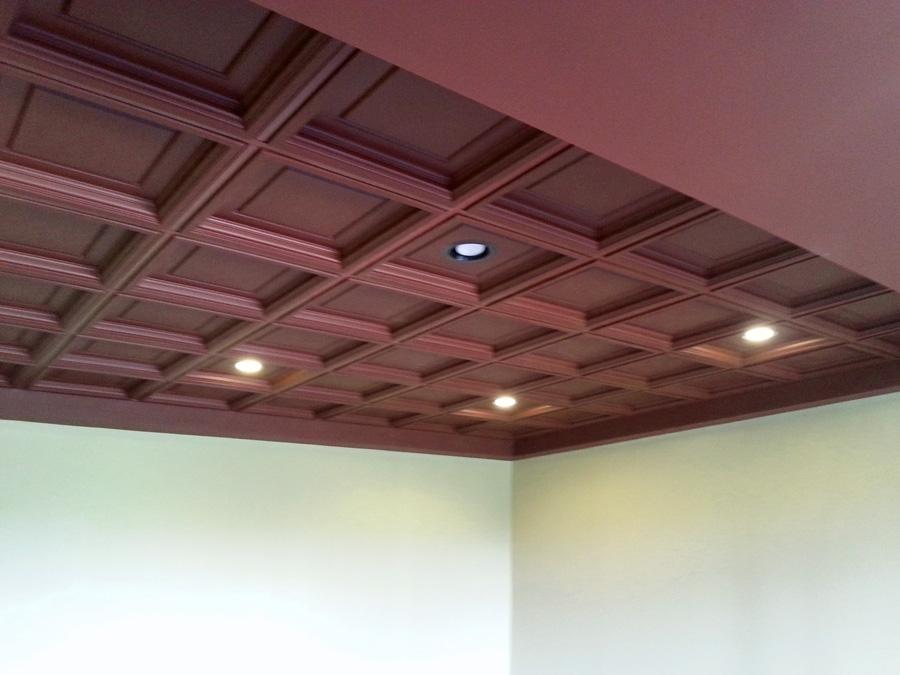 Elegant Coffered Ceiling Ceilume