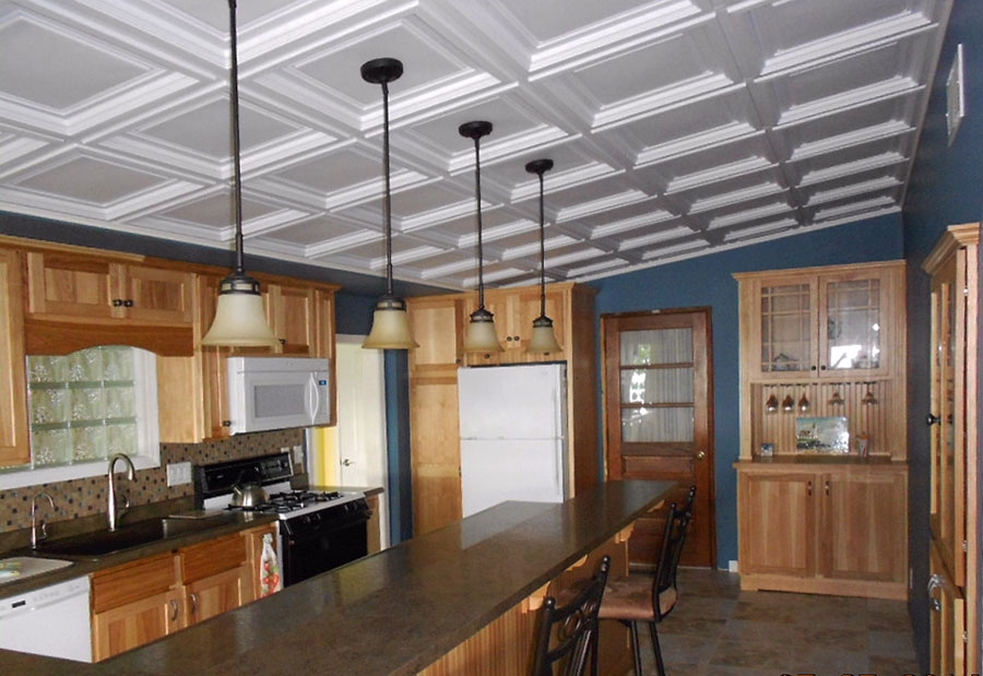 Lake House Kitchen Ceilume