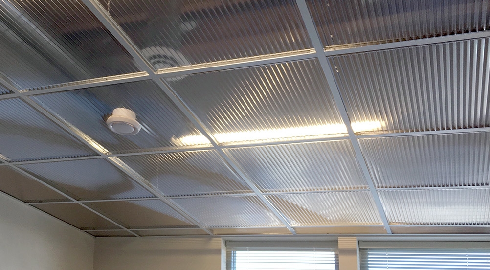 Polyline Drop Out Ceiling Ceilume