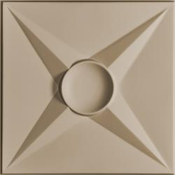 Circle Star Ceiling Tiles Bronze