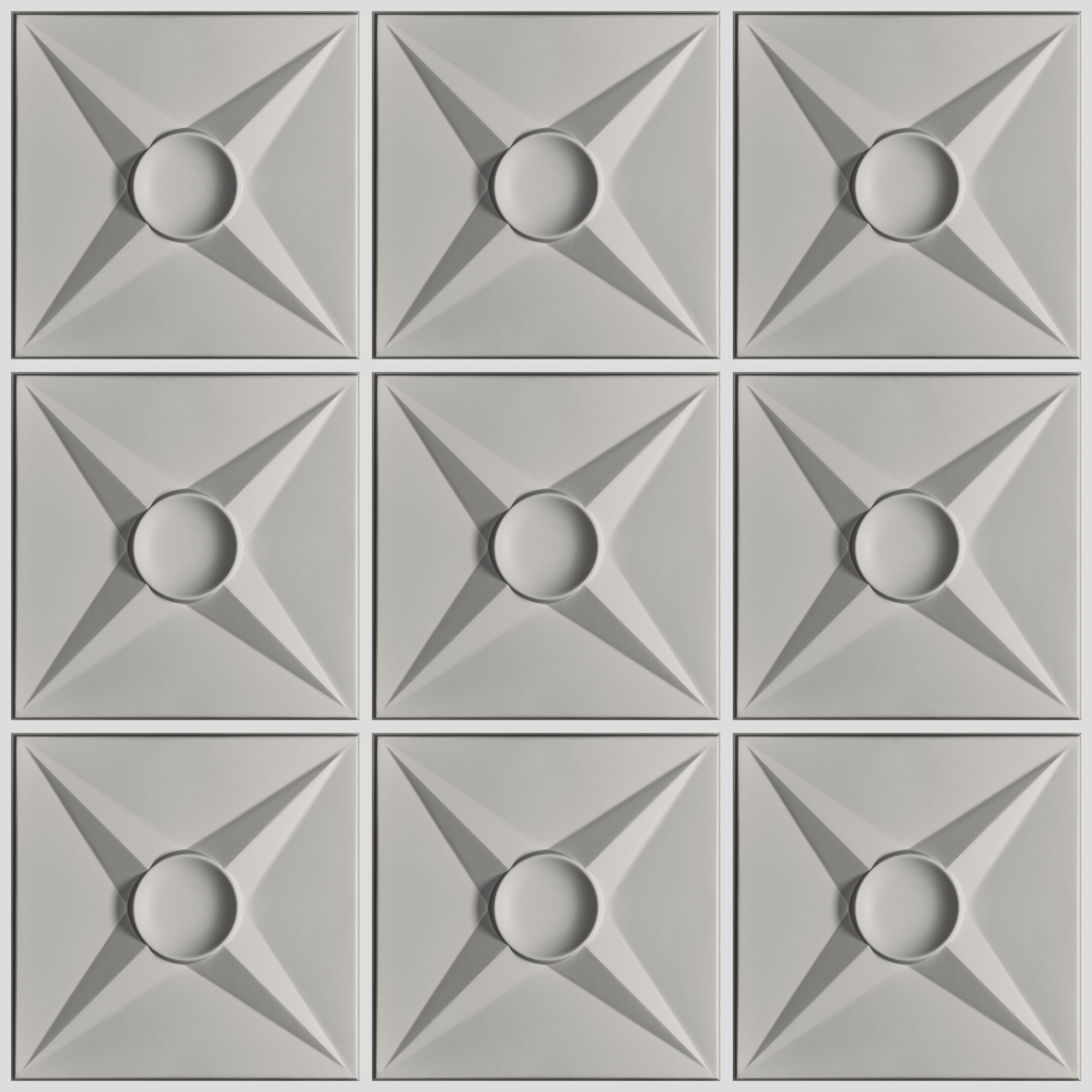 Circle Star Ceiling Tiles