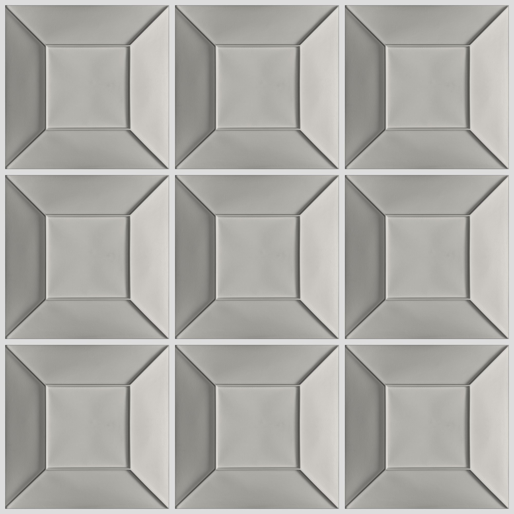 Convex Ceiling Tiles