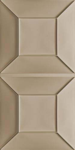 Convex Ceiling Panels Latte