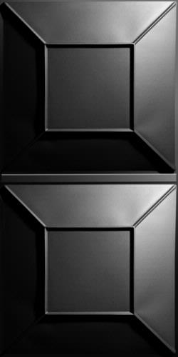 Convex Ceiling Panels Black