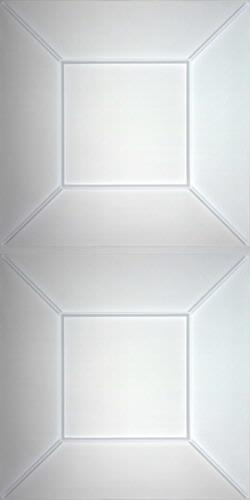 Convex Ceiling Panels Frosted