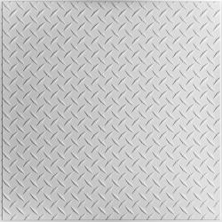 Diamond Plate Ceiling Tiles Bronze