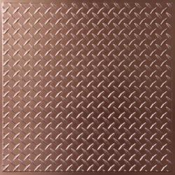 Diamond Plate Ceiling Tiles Random Gray