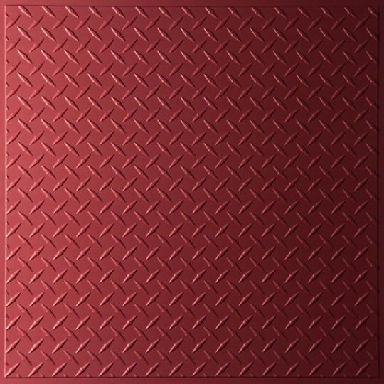 face Diamond Plate Ceiling Tiles