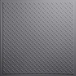 Diamond Plate Ceiling Tiles Merlot