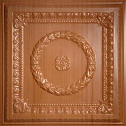 Evangeline Ceiling Tiles Caramel Wood