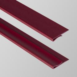 EZ-On Wall Angle Grid Covers Garnet