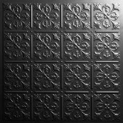 Fleur-de-lis Ceiling Tiles Copper