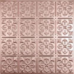Fleur-de-lis Ceiling Tiles Merlot
