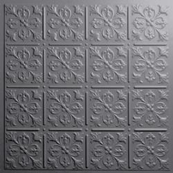 Fleur-de-lis Ceiling Tiles Bronze