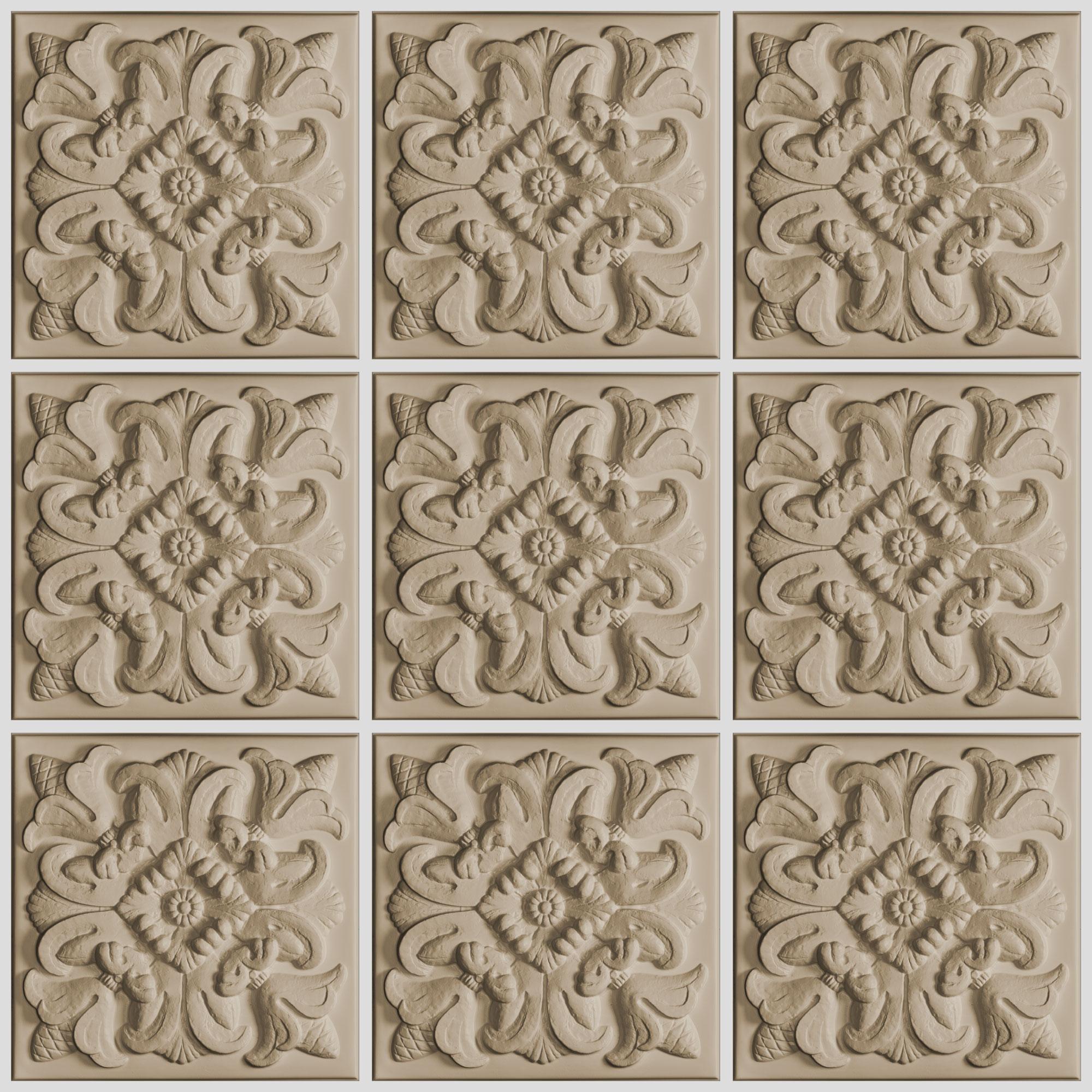 Florentine Ceiling Tiles
