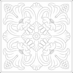 Florentine Ceiling Tiles Clear