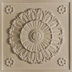Medallion Ceiling Tiles White