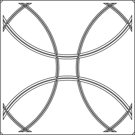 Orb Ceiling Tiles