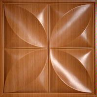 Petal Caramel Wood Ceiling Tiles