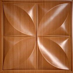 Petal Ceiling Tiles Caramel Wood