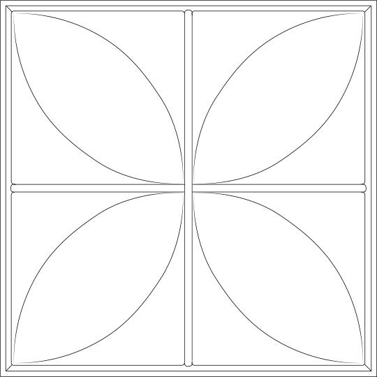 Petal Ceiling Tiles
