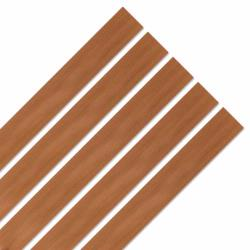 Smooth Strips Caramel Wood