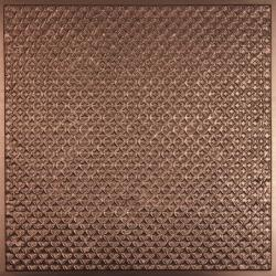 Rattan Ceiling Tiles Copper
