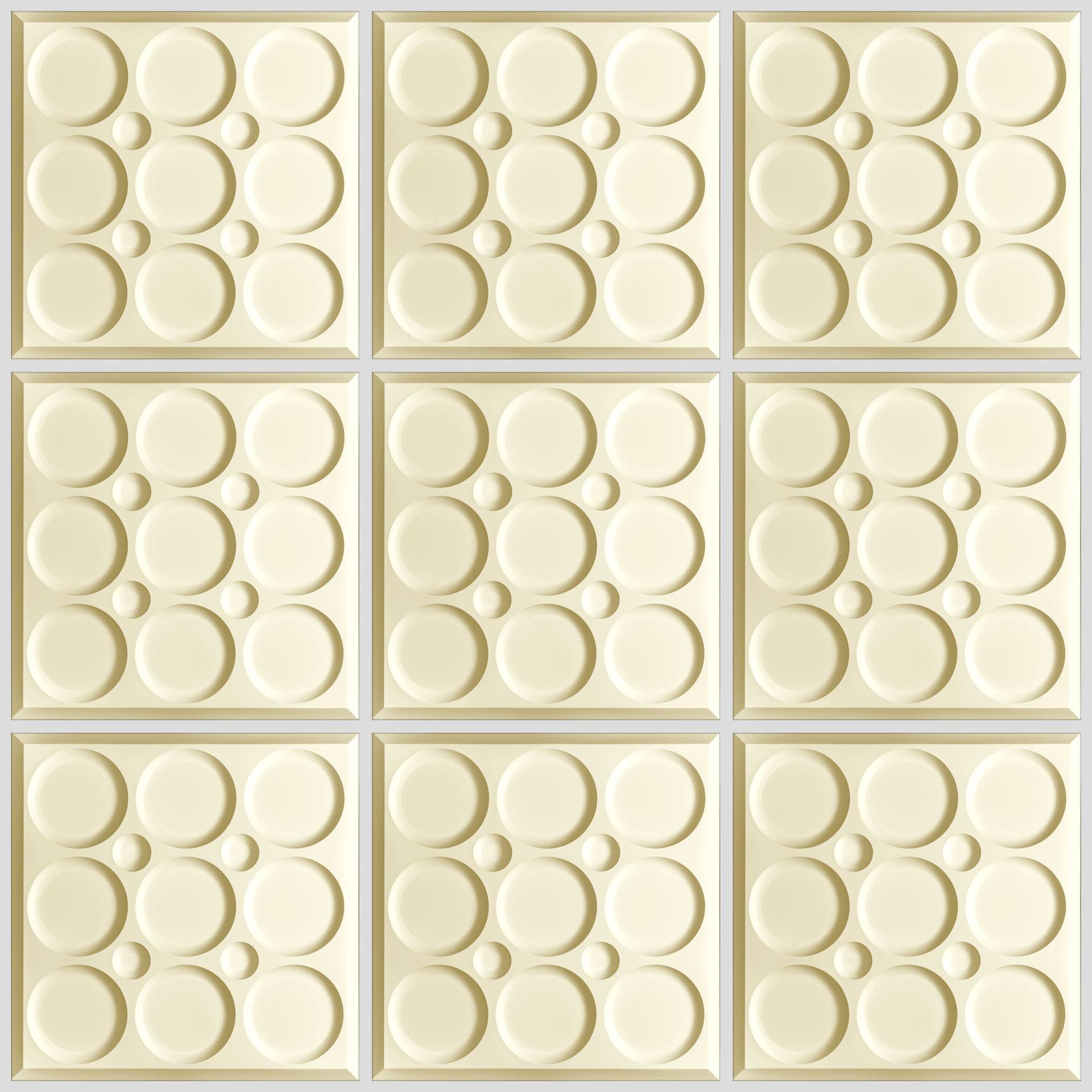 Roman Circle Ceiling Tiles