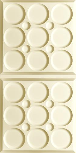 Roman Circle Ceiling Panels Latte