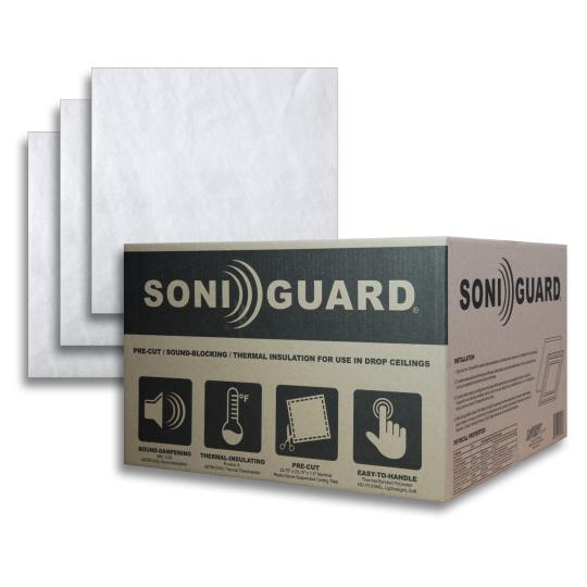 face Soniguard Drop Ceiling Insulation
