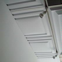 Art Gallery's Artistic Ceiling