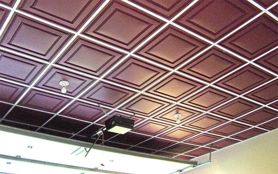 Garage ceiling tiles design ideas