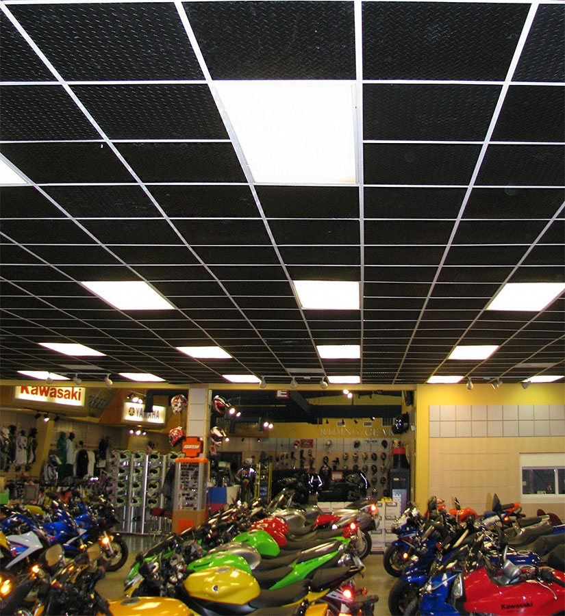Motorcycle Showroom Ceilume