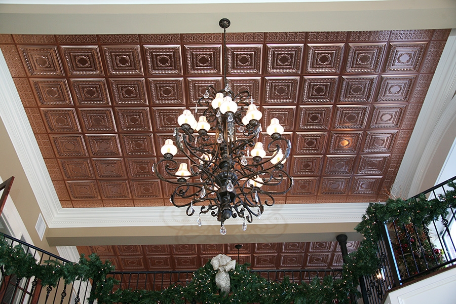 Empire Copper Ceiling Tile Picture