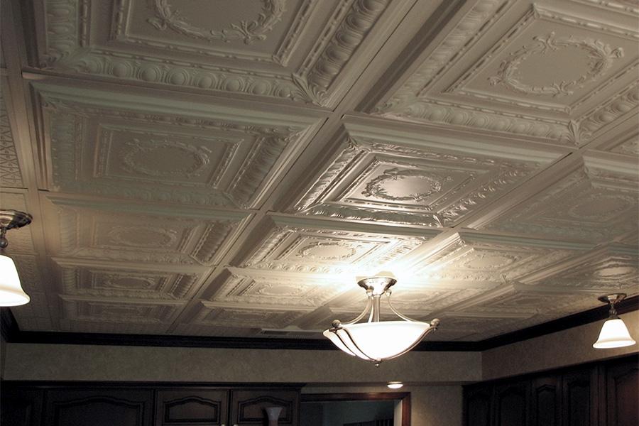 Paintable Ceiling Tiles - Ceilume
