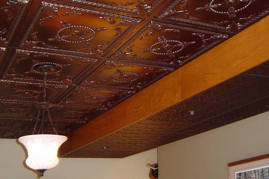 Alexander Bronze Ceiling Tile