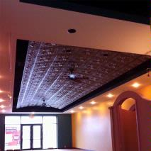 Better Than Tin Vaulted Ceiling