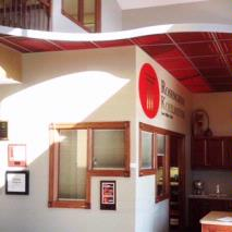 Unique Curving Ceiling