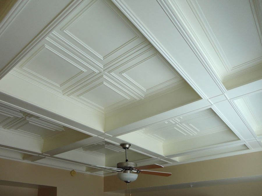 Coffered ceiling ceilume for Average cost of coffered ceiling