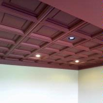 Elegant Coffered Ceiling