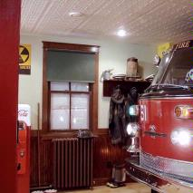 Ceiling of a Fire Station