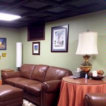 Black Ceiling 1970s Cover-Up