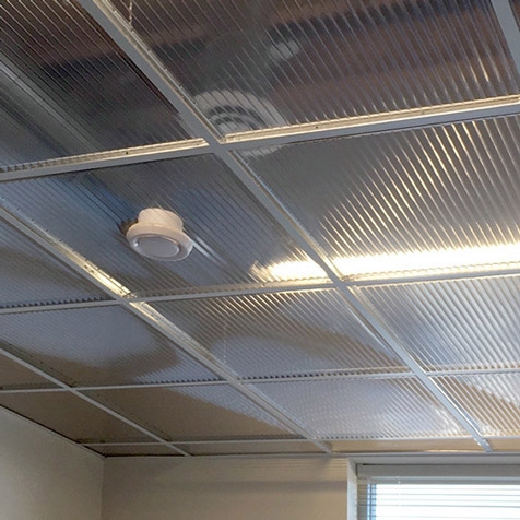 Polyline Drop-Out Ceiling