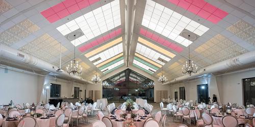 Glancing Light across Ceiling Panels